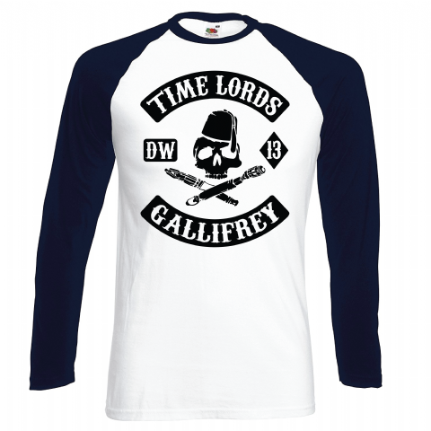 TIME LORDS BASEBALL - INSPIRED BY DR.WHO GALLIFREY  MATT SMITH DAVID TENNANT SONS OF ANARCHY